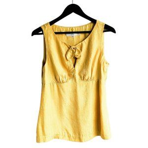 TRINA TURK 100% Silk Keyhole Sleeveless Blouse - 6
